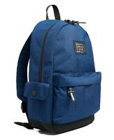 Superdry Rucksack Blue Hologram Montana Backpack School Travel Work Bag Laptop