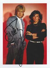 MODERN TALKING 7 BOHLEN ANDERS Foto 15x20 Autogramm signiert IN PERSON Autograph
