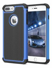 For Apple iPhone 5 SE 6S 8 7 Plus Phone Case Hybrid Shockproof Armor Hard Cover