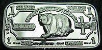 999 Silber Silberbarren Silver Silverbar Bär Bear Neu ! NEU Selten !!!