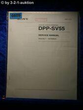 Sony Service Manual DPP SV55 Volume 1 1st Edition Photo Printer (#6609)
