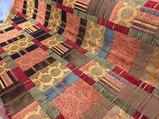 PORTER and STONE ~PRAGUE TERRACOTTA~ Tapestry style Upholstery/Curtain Fabric