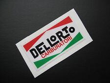 DELLORTO LAMBRETTA MOTO GUZZI DUCATI VESPA Sticker/decal x2