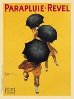 VINTAGE ART PRINT - PARAPLUIE REVEL by Leonetto Cappiello 24x32 Umbrella Poster