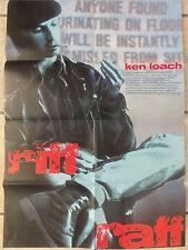 Ken Loach RIFF RAFF Plakat Kinoplakat