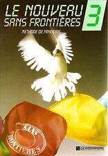 CLE International LE NOUVEAU SANS FRONTIERES 3 Livre D'Eleve Girardet NEW French