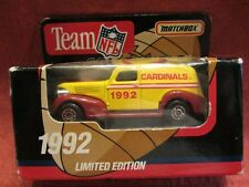 Matchbox 1992 Team NFL Collectible Cardinals  Limited Edition 1:64 scale (5)