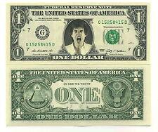MICK JAGGER - VRAI BILLET de 1 DOLLAR US ! Collection The ROLLING STONES Rock UK
