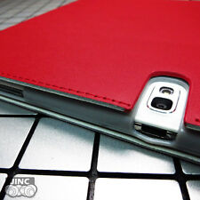Genuine Leather Book Case Cover for Samsung SM-P607TZKETMB Galaxy Note 10.1 2014
