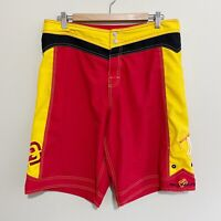 Billabong Colourblock Vintage 2000's Swim Surf Board Shorts Mens 34