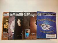 Bluegrass Unlimited Magazine July - December 2016 Magazine Lot Of 6