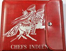 1971 Republic of Haiti Indian Chiefs 9 Fine Silver Coin Set Original Red Folder