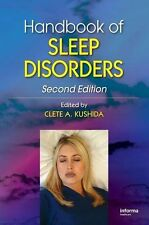Handbook of Sleep Disorders by Clete Kushida Hardcover Book NEW