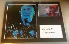 [A0701] Kenneth Cranham HELLRAISER Signed 12x16 Display AFTAL