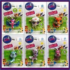 Littlest Pet Shop Singles 6 Figure Set 2740 2741 2742 2743 2744 2745 New Toys