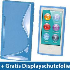 Blau Etui TPU für Neu Apple iPod Nano 7. Gen Generation 7G 16GB Gel Tasche Hülle