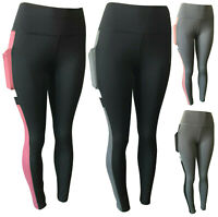 Women Compression Fitness Leggings Running Yoga Gym Pants Workout Active Wear #6