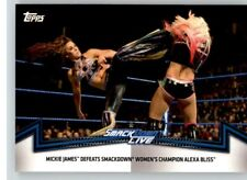 2018 WWE Women's Division Matches & Moments Smackdown #6 Mickie James