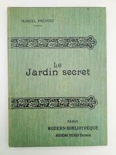"""""""La vie privée de Michel Tessier"""" / Edouard Rod - Modern-Bibliothèque (1900-10)"""