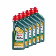 Castrol 6L Of Axle Z SAE 90 LSD/Limited Slip Differential GL5 Road Car Gear Oil