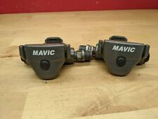 Vintage Mavic Clipless Pedals by LOOK Gray VGC B2