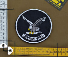 "Ricamata / Embroidered Patch FBI ""Servare Vitas"" with VELCRO® brand hook"