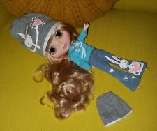 2006 Hasbro Tomy Blonde Blythe Doll w SWEET Handmade Bunny Rabbit Outfit Clothes