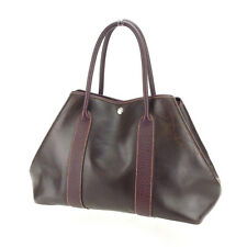 Hermes Tote bag Garden Party PM Brown Woman Authentic Used Y4361