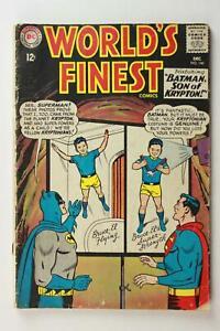 LOT of TWO 1960s WORLD'S FINEST COMICS (BATMAN and SUPERMAN) # 146 & 154