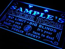 pd-tm Name Personalized Custom Poker Casino Room Beer Bar Neon Sign