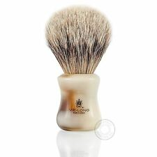 Vie-long 16569 de aletas plateadas pelo de tejón brocha de afeitar