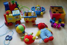 6x Baby- + Kleinkindspielzeug