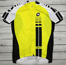 ASSOS SS.MILLE - CAMPIONISSIMO - genuine HIGH QUALITY cycling yellow JERSEY - M