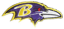 New NFL Baltimore Ravens Football Logo embroidered iron on patch. (i167)