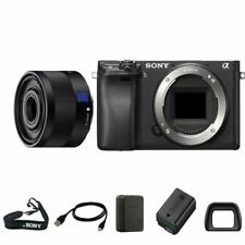 Sony A6300 Digital SLR Body + 35mm f/3.8 ZA Lens