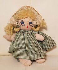 Vintage handmade handcrafted doll toy sock doll
