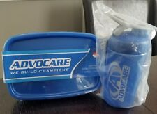 Advocare 24 Day Challenge Blender Bottle & 3 Meal Prep Containers