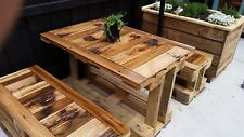 Reclaimed timber Outdoor setting