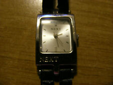 Used Next Ladies White Face Watch - nice Condition strap bad - Face 15mmx20mm