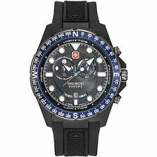 Swiss Military Hanowa Squad Tide Men's Rubber Strap Watch 06-4252.27.007