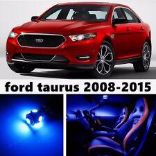 12pcs LED Blue Light Interior Package Kit for Ford Taurus 2008-2015