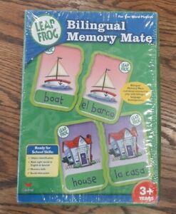 Leap Frog Bilingual Memory Mate Game Spanish & English New, sealed