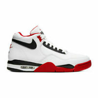 NIKE AIR FLIGHT LEGACY BQ4212-100 BLACK RED WHITE BRED OG RETRO MENS SIZES NEW