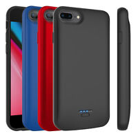For iPhone 6/6s/7/8 Plus External Battery Case Power Bank Backup Charging Cover