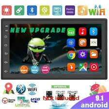 7'' Double 2 DIN Android 9.1 Car Stereo WIFI Radio GPS Navigation Head Unit MP5