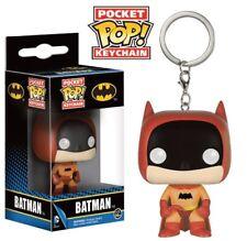 DC Comics porte-clés Pocket POP! Vinyl 75th Anniversary Batman Orange 4 cm 64327