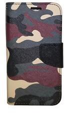 Vinyl Wallet Case for Samsung Galaxy S7 - Camouflage B1833