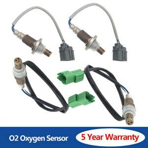 4pcs O2Oxygen Sensor Up+Downstream  For 2007-2008 Suzuki Grand Vitara V6-2.7L