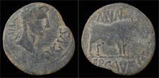 Spain Hispania Citerior Ercavica Augustus AE AS