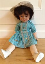 Vintage Pedigree Hard Plastic Doll 1950/60s For TLC